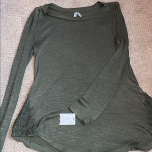 Army green long sleeve